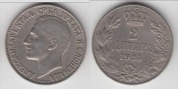 **** YOUGOSLAVIE - YUGOSLAVIA - 2 DINARA 1925 **** EN ACHAT IMMEDIAT - Yugoslavia