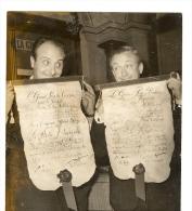 PHOTOGRAPHIE ARGENTIQUE  , De PIERRE TCHERNIA & ROBERT DHERY , Le Grand Prix Du Cinéma 1963 - Photos
