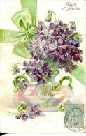 N°34105 -cpa Gaufrée (embossed Card) -gage D'amitié- - Fantaisies