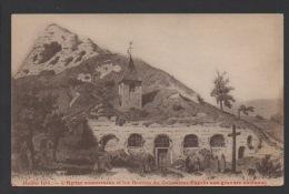 DF / 95 VAL D' OISE / HAUTE ISLE / L' EGLISE SOUTERRAINE ET LES GROTTES DU COLOMBIER D' APRES UNE GRAVURE ANCIENNE - Autres Communes