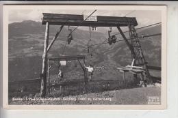 A 6774 TSCHAGGUNS, Sessel Lift Gasthaus Grabs, 1951 - Bludenz