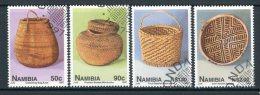 NAMIBIA 1997 - Cesti / Baskets - 4 Val. Usati / Used Come Da Scansione - Namibia (1990- ...)