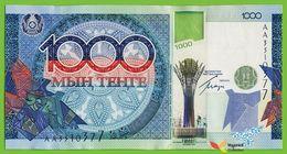 Voyo KAZAKHSTAN 1000 Tenge 2010 P35 B135a Prefix AA UNC Commemorative - Kazakhstán