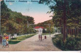Bratislava - Pozsony - Pressburg ---  Železná  Studnicka ,    1924 - Slovaquie