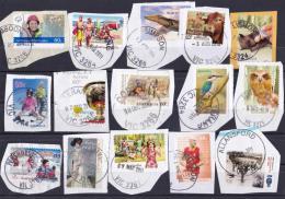Australia 2010 - 2012   15 Distinct Victorian Postmarks On Self-adhesives - Postmark Collection