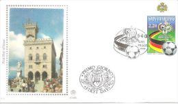 81681) Fdc  San Marino Germania 2006 - FDC