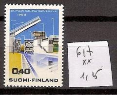 Finlande 617 ** Côte 1.25 € - Finnland