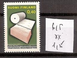 Finlande 615 ** Côte 1.25 € - Finnland
