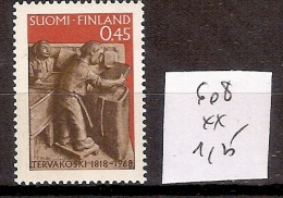 Finlande 608 ** Côte 1.25 € - Finnland