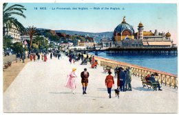 CP, 06, NICE, La Promenade Des Anglais, Vierge - Otros