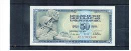 JUGOSLAWIEN , YUGOSLAVIA ,  50 Dinara ,  Pick #89 - Yugoslavia