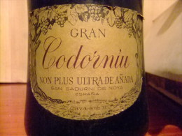 CAVA GRAN CODORNIU NON PLUS ULTRA DE AÑADA Vintage 1970/75 - Champagne & Sparkling Wine
