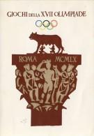 Leuke Italiaanse Gelegenheidskaart O.S. Rome 1960 - Sommer 1960: Rom