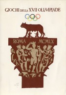 Leuke Italiaanse Gelegenheidskaart O.S. Rome 1960 - Zomer 1960: Rome