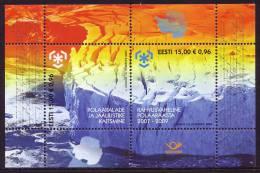 ESTONIA/Estland 2009, IPY International Polar Year - Preserve The Polar Regions And Glaciers Minisheet** - Preservare Le Regioni Polari E Ghiacciai