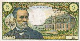 - BILLET De 5 Fr Pasteur - A 1-9-1966 A - 453 - 5 F 1966-1970 ''Pasteur''