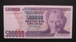 Turkey - 500.000 Lira - 1993 - P 208 - VF+ - Look Scan - Turquie