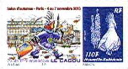 Nouvelle Caledonie Timbre Personnalise Prive Club Cagou Salon Automne 4 Novembre 2010 Cagou Neuf - Non Classificati