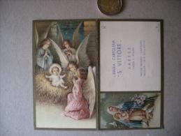 Calendarietto/calendario Santini/santino Libreria Cartoleria S.VITTORE Varese 1936 - Calendari