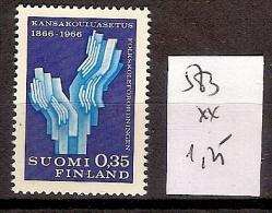 Finlande 583 ** Côte1.25 € - Finnland