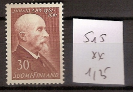 Finlande 515 ** Côte  1.25 € - Finnland