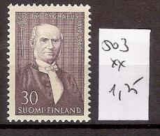 Finlande 503 ** Côte  1.25 € - Finnland