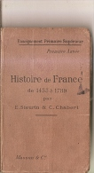 Histoire De France 1453 à 1789-steurin Et Chabert-1904 - Books, Magazines, Comics