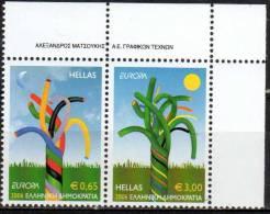 PIA  -  GRECIA  - 2006 : EUROPA    -   (Yv 2330-31) - 2006