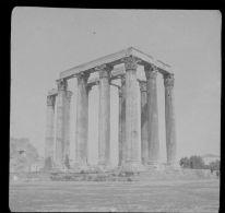 V1140 - GRECE - ATHENES - Temple De Jupiter - Plaques De Verre