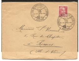 18/04/1948 : Journée Du Monument De L'Yonne - Auxerre - S/lettre - (t417) - Francia