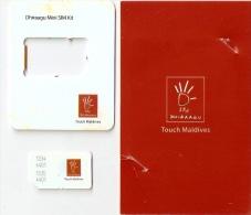 *IS. MALDIVE* - Supporto E Sim GSM - Maldiven