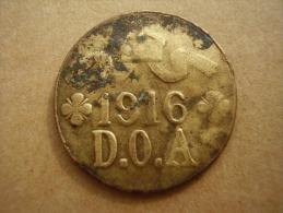DOA  1916 EMERGENCY TABORA COINS 5 HELLER BRASS. - German East Africa