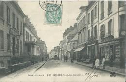 39Fo     76 Bolbec Rue Leon Gambetta La Poste Commerces - Bolbec