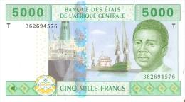 BILLETE DEL CONGO DE 5000 FRANCS DEL AÑO 2002  (BANKNOTE) SIN CIRCULAR-UNCIRCULATED - Congo