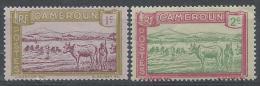 Cameroun N°106-107 * Neuf - Unused Stamps