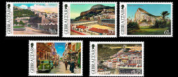 GIBRALTAR 2013 - Vues Historiques De Gibraltar - 5val Neufs // MNH - Gibraltar