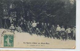 Les Sports D'Hiver Au Mont Dore - L'équipe Du S.C.M.D - édition S.C.M.D. - Le Mont Dore