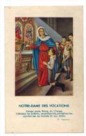 """IMAGE PIEUSE  :  """" Notre Dame Des Vocations  """" Alfred FOURNIEZ - Lormoy Allouagne - Images Religieuses"""