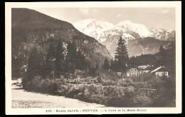 74 SERVOZ / L'Arve Et Le Mont Blanc / - France