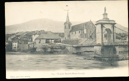 74 SEYSSEL / Le Pont / - Seyssel