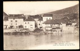 74 SEYSSEL / Partie Du Village En Aval Du Pont / - Seyssel