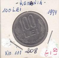 100 LEI  ROUMANIE 1994 - Roumanie