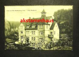 RASTENBERG Thür. Kölleda Sömmerda - Villa REICHARDT - Sömmerda