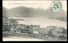 74 TALLOIRES / Vue Générale Et Le Petit Lac / - Talloires