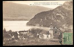 74 TALLOIRES / Vue Générale Et Le Roc De Chère / - Talloires
