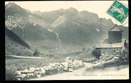 74 TALLOIRES / Au Col De La Forclaz / - Talloires