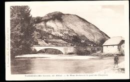74 TANINGES / Le Mont Orchez Et Le Pont Des Thezières / - Taninges