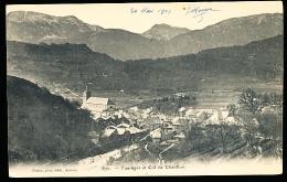 74 TANINGES / Vue Générale Et Col De Châtillon / - Taninges