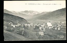74 TANINGES / Vue Générale Et Le Buet / - Taninges