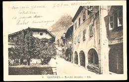 74 TANINGES / Rue Des Arcades / - Taninges